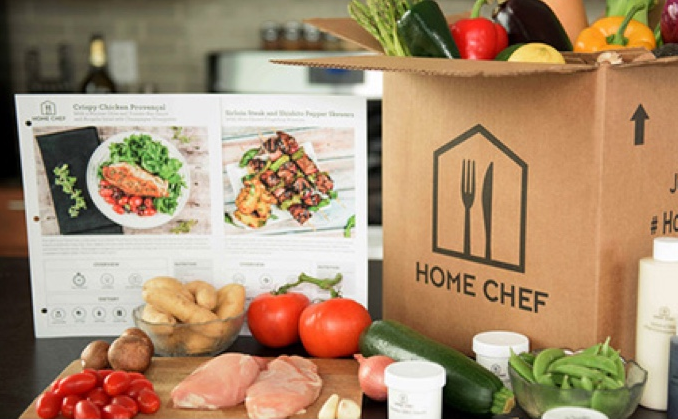home chef food delivery
