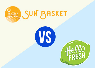 sun basket and hello fresh meal kit comparisons