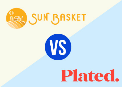 sun basket and plated meal kit comparisons