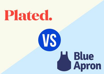 blue apron and plated meal delivery comparison