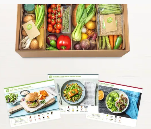 delivery box and packaging