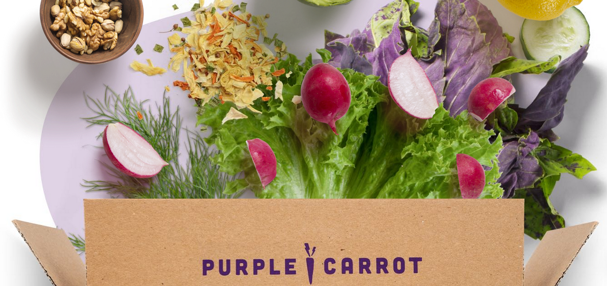 purple carrot meal delivery review